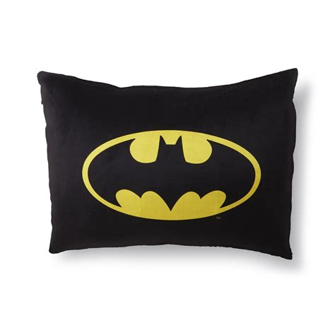 batman pillow pet dc comics batman microfleece bed pillow logo