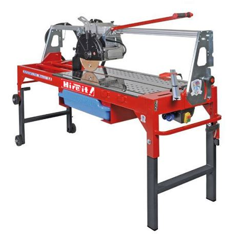 tile cutter electric standing table 1 63m hire it