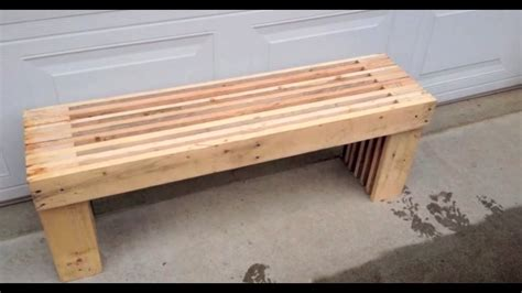 Pallett Bench pallet bench diy