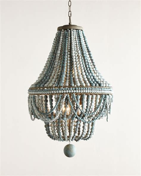 malibu beaded 6 light chandelier everything turquoise