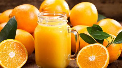 Five surprising health benefits of orange fruit juice