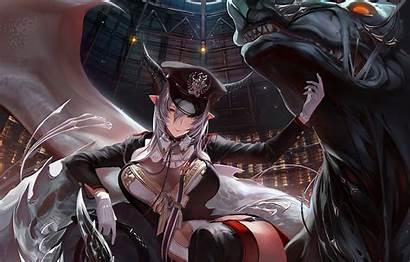Demon Beast Anime Bahamut Thigh Wallpapers Shingeki