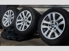 2007 OEM BMW 328i series factory rims and tires