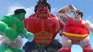Red Blob Vs Hulk(Transformation) Vs Red Hulk - Lego Marvel ...