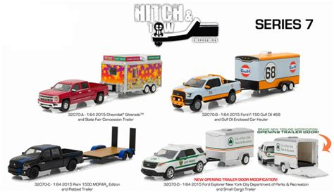 green light toys greenlight diecast hitch and tow series 7 12
