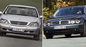 Bmw Ou Mercedes : limousines luxueuses bmw s rie 7 ou mercedes classe s ~ Medecine-chirurgie-esthetiques.com Avis de Voitures