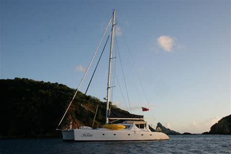 Crewed Yes Dear Yacht Charter Details, Simonis Catamaran