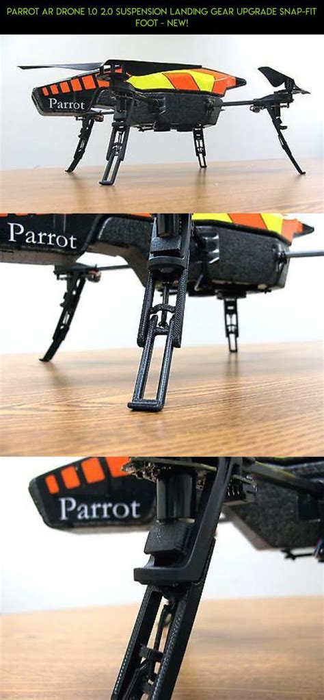 parrot ar drone   suspension landing gear upgrade snap fit foot  products parts