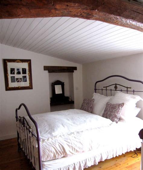 chambre avec lambris blanc awesome decoration chambre adulte avec lambris pictures
