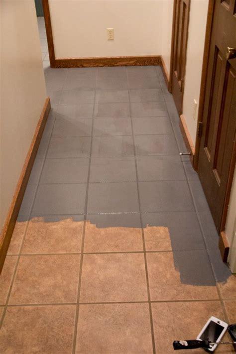 faux cement tile painted floors tile floor diy diy