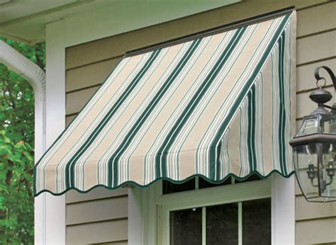 series window awning