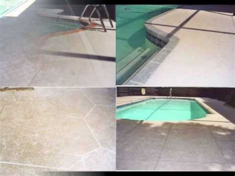 resurfacing a pool deck do it yourself images