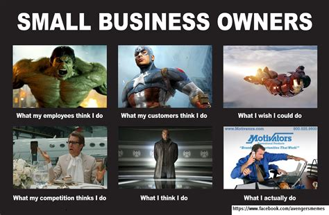 Small Business Meme - avengers memes