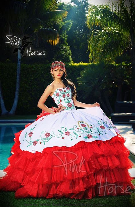 whitered quinceanera dresses pageant girls