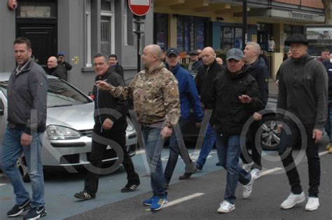 anti fascist  community anger  fascist provocation