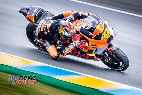 marquez tops tricky le mans qualifying session frenchgp