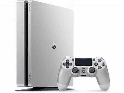 Ps4 Silver Slim Golden Playstation Console Controller