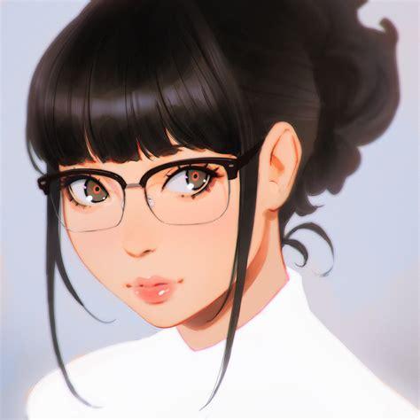Anime Picture Original Kr0npr1nz Single Short Hair Black