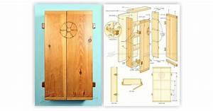Small Wall Cabinet Plans • WoodArchivist