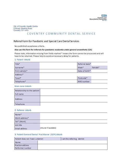 referral form template templatedosecom