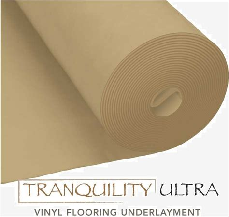 Tranquility Ultra Underlayment Specifications Lumber
