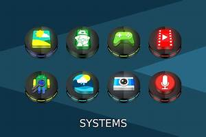 App Neon 3D icon Pack APK for Windows Phone