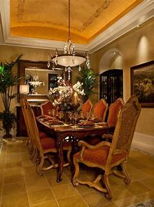 15, Magnificent, Mediterranean, Dining, Room, Designs, Made, Of