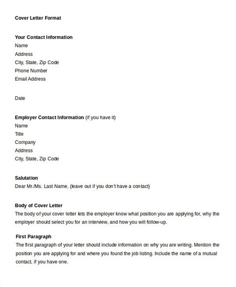 official letter writing format  english letters