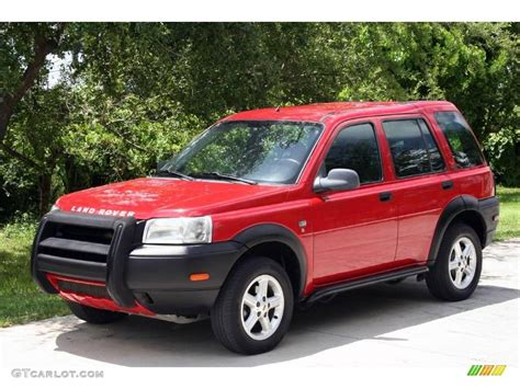 red land rover 2002 alveston red land rover freelander s 15516714
