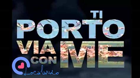 Jovanotti Ti Porto Via Con Me Torrent by Benassi Feat Jovanotti Ti Porto Via Con Me Localando