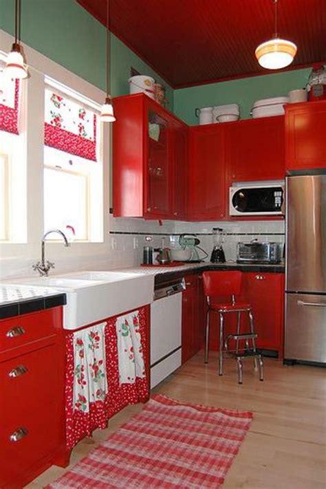 retro kitchen paint colors ديكور منزلك باللون الأحمر في عيد الحب المرسال 4817