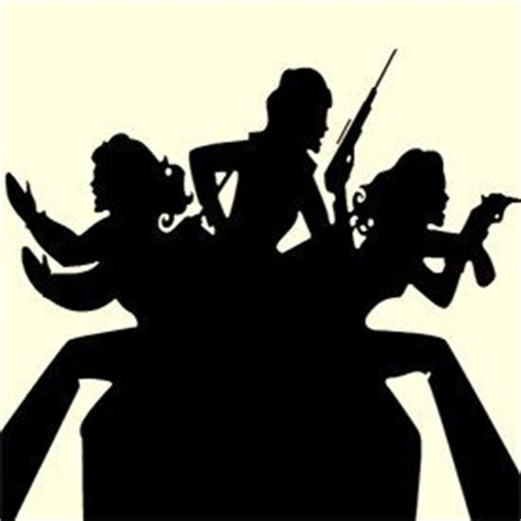 charlies angels title card angel silhouette charlie