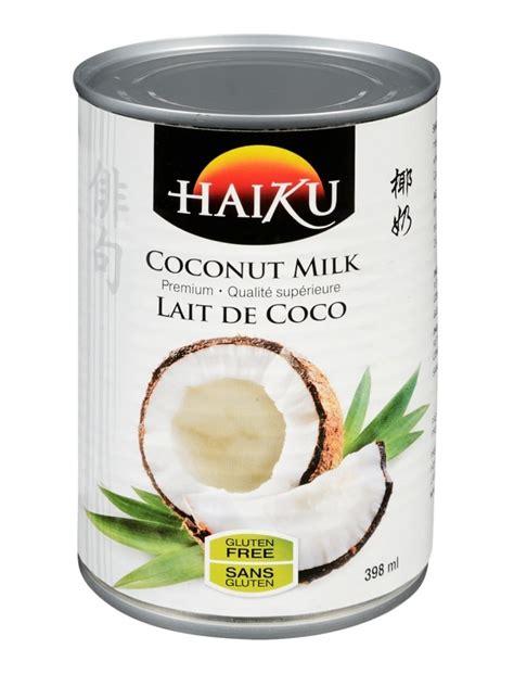 haiku cuisine lait de coco régulier haiku