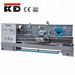 China Big Turning Manual Lathe Machine C6266c Kaida