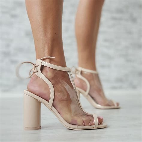 Prozirne sandale