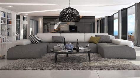 Grand Canapé D'angle Design Bapa Large, 1 689,00