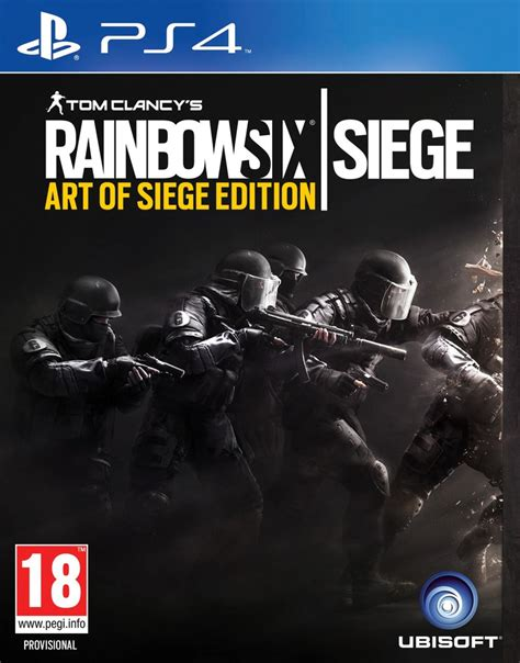 siege ps4 tom clancy 39 s rainbow six siege of siege edition ps4