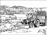 Coloring Farm Coloringpages1001 sketch template
