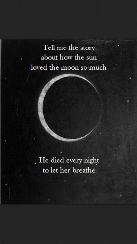 sun  moon poem ideas  pinterest moon