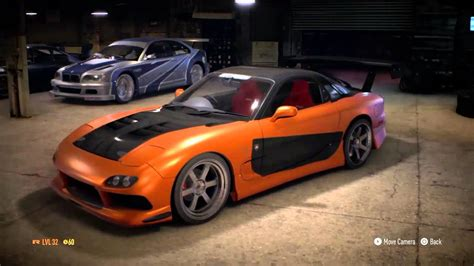 Need For Speed 2015 Han's Mazda Rx7 Fast And Furious