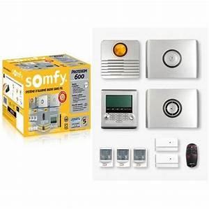 Alarme Voiture Sans Fil : somfy 2401012 pack alarme sans fil protexiom 600 s achat ~ Dailycaller-alerts.com Idées de Décoration