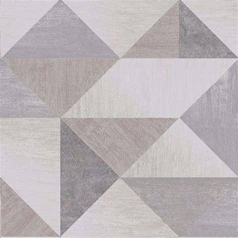 exeter grey geometric wallpaper  brewster