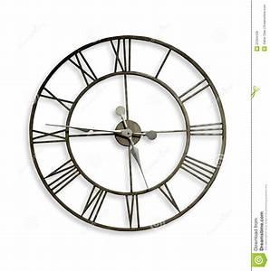 Horloge Murale Chiffre Romain : horloge de mur de chiffre romain photo stock image du second mesure 22304428 ~ Teatrodelosmanantiales.com Idées de Décoration