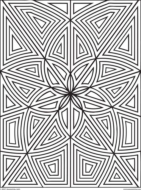 designs to print and color geometrip com free geometric coloring designs rectangles