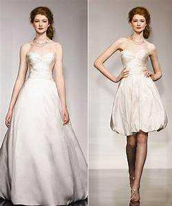 hot bridal trend convertible wedding dresses bravobride With convertible wedding dresses