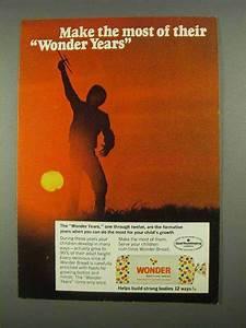 1968 Wonder Bread Ad - Make Most of Their Wonder Years