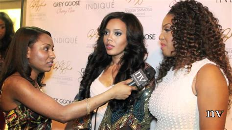 Angela Simmons And Ericka Dotson Introduce There New Hair