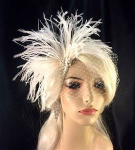 Bridal Feather Fascinator Bridal Fascinator Bridal