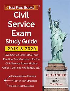 Civil Service Exam Study Guide 2019  U0026 2020   Civil Service