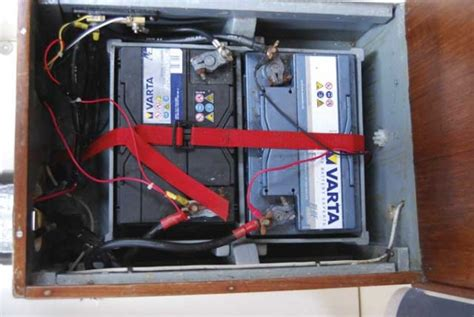 Boat Battery In Parallel by Charging Two Battery Banks Practical Boat Owner